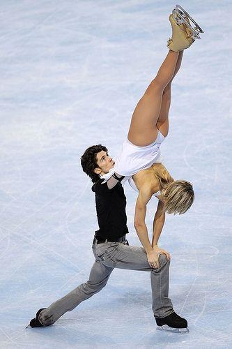 FIGURE-SKATING/ 2009 TEB Ice dance / Sinead Kerr and John Kerr by torophyofeb_2009, via Flickr