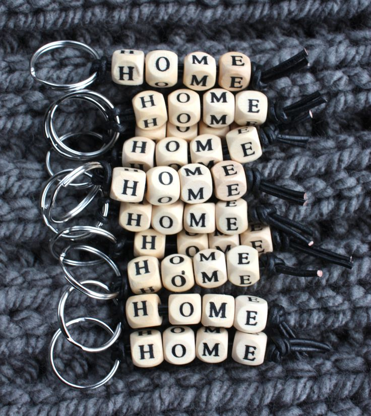 sleutelhanger home