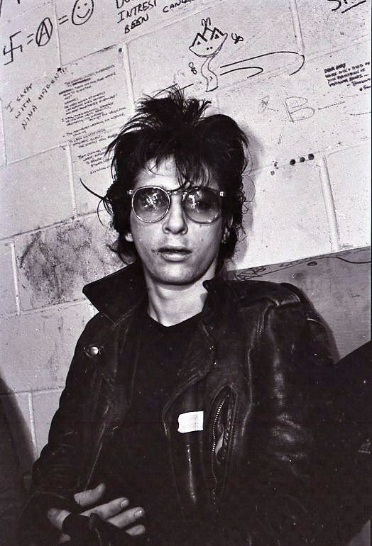 ?Johnny Thunders at Gary Taylor's Rock Room in Vancouver, Canada May 6, 1981
