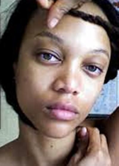 Tyra Banks Without Makeup Named As World Supermodel Tyra