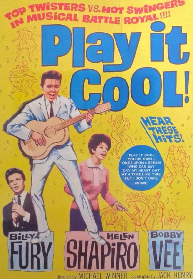 Play It Cool Movie Poster Rock N Roll Pinterest