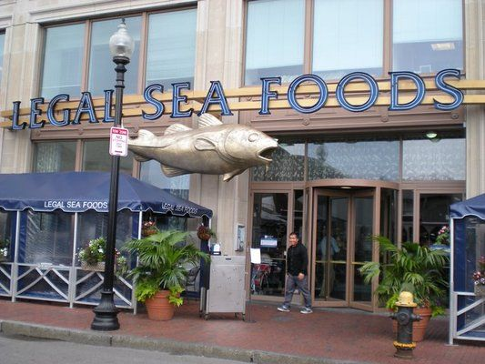 loved it - Legal Seafoods, Boston MA