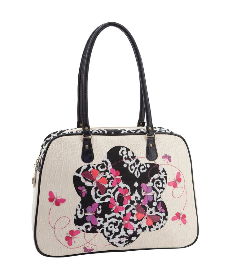 Spencer and Rutherford - Handbags - Zip Top Carry All - Lulu - Spellbound