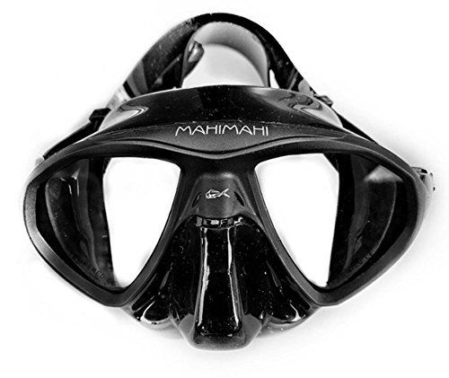 This black silicone mask with low volume is perfect for all diving activities: Scuba diving, spearfishing, snorkeling and freediving. The low internal volume makes the equalization easier and field of vision wider. The fit is great for almost all faces and the comfortable material is a real...