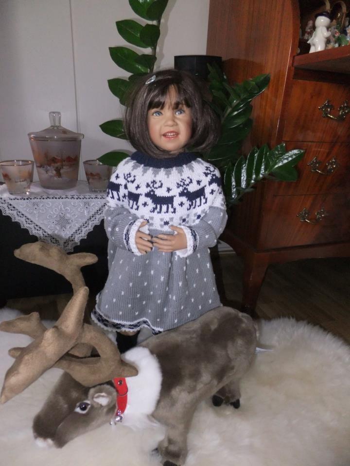 Sissel B skille doll