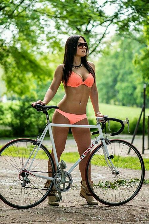 Watch Orgasm On Bicycle