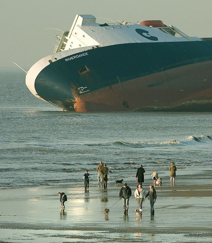 MS Riverdance, Blackpool, Irish Sea