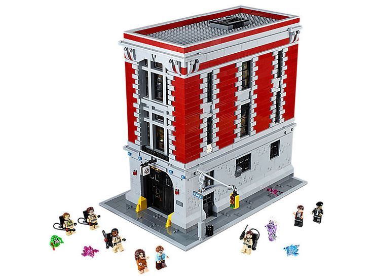LEGO Ghostbusters Firehouse Headquarters (Item: 75827).