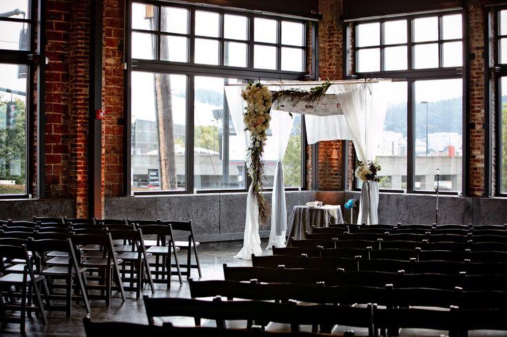 Portland, Oregon Wedding at Leftbank Annex  Read more - http://www.stylemepretty.com/oregon-weddings/portland/2014/01/15/portland-oregon-wedding-at-leftbank-annex/