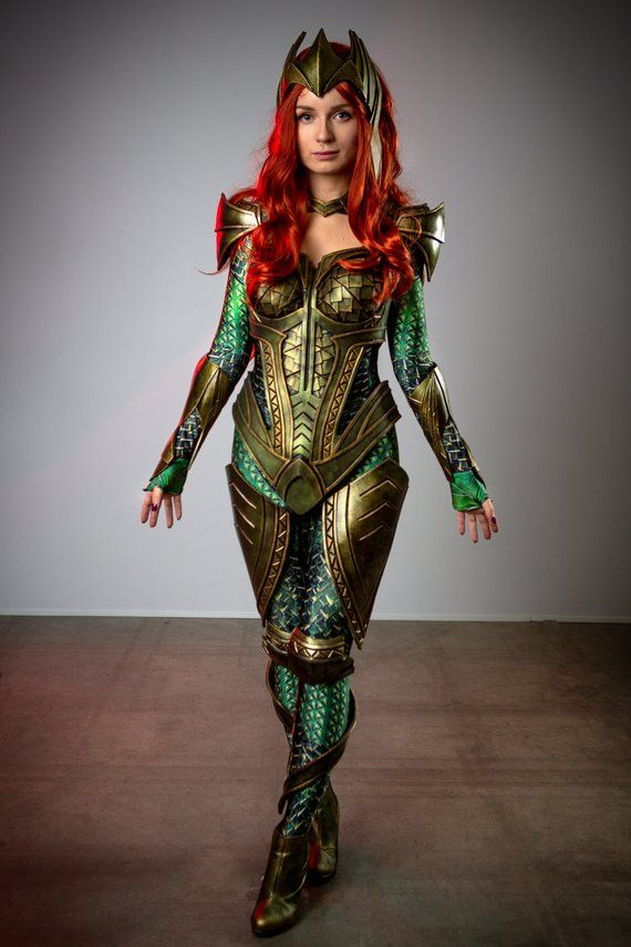 mera full armor set template cosplay costume printable