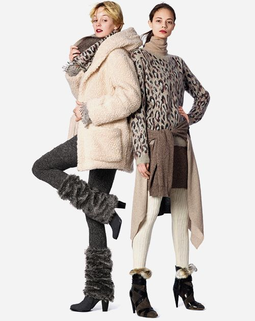 Donna | Autunno Inverno 15 | 134GPNC_407GPNC_SCALDAMUSCOLO_CHILLY_WINTER_LEGGINGS_TWEED_SWEATER | Goldenpoint
