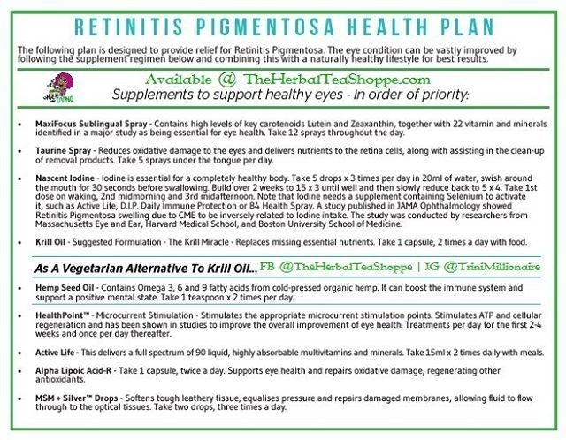 #HealthPlanOfTheDay Retinitis Pigmentosa  What Is Retinitis Pigmentosa?  Retinitis Pigmentosa is the most well-known genetic eye disease. Many cases of severe eye disease in children such as microphthalmos (small eye) cataracts glaucoma and retinoblastoma and eye tumour in childhood are caused by genetic defects.  Many genetic diseases that affect several body systems also affect the eye e.g. Marfan syndrome and neurofibromatosis.  What Causes Retinitis Pigmentosa?  It is increasingly…