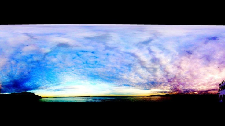 Puget sound.. Love using panorama!