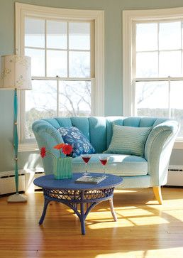 the perfect reading seat! Add a Love Seat to Your Living Space - Town & Country Living