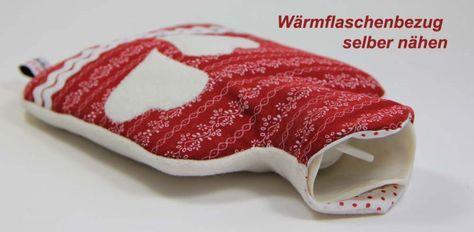 Wärmflaschenbezug selber nähen (free)