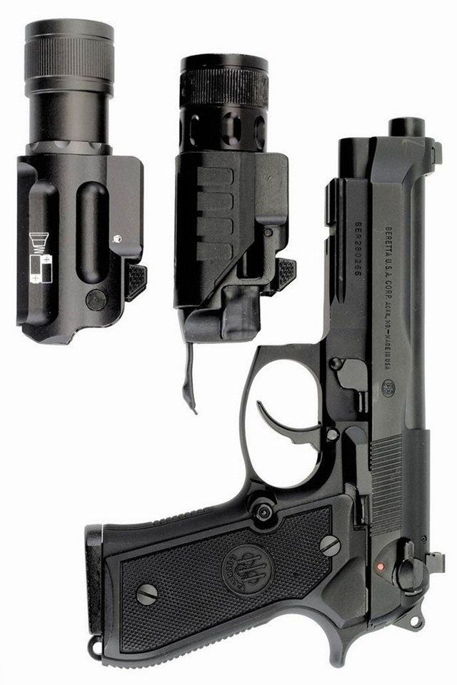 The Beretta family has designed weapons since the renaissance: Their masterpiece: M9 Beretta 92 FS