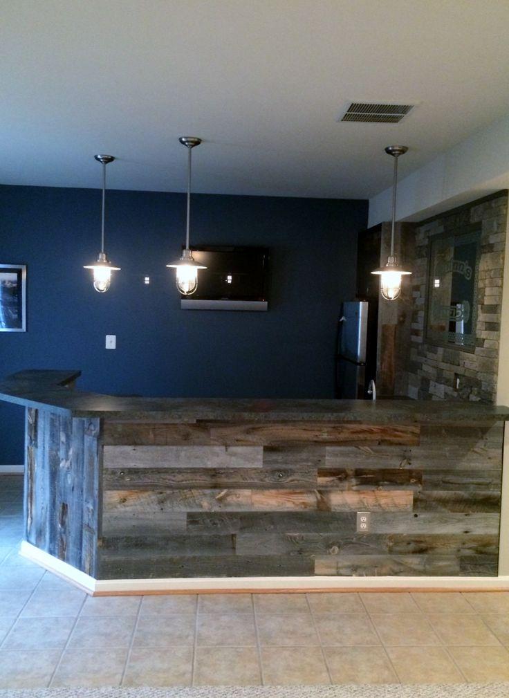 Best 25 rustic basement bar ideas on pinterest - Bar wall ideas ...