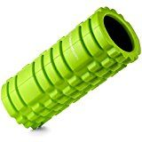 Foam Roller for Deep Tissue Muscle Massage - Trigger Point Therapy - Myofascial Release - Muscle Roller for Fitness, CrossFit, Yoga & Pilates (Green with Black Core) - https://www.trolleytrends.com/?p=607231