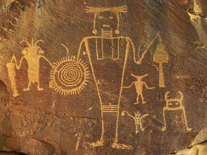 Petroglyphs found on cave and mountain walls in many parts of the world, imply that ancient aliens may have visited the planet.