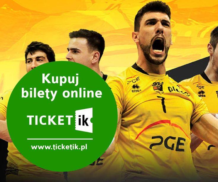 Jesteś fanem Skry Bełchatów? Nie stój w kolejkach do kas! Kupuj bilety ma mecze Skry przez internet! Sprawdź kalendarz meczów i zamów bilety: http://ticketik.pl/#!/Organizator/11