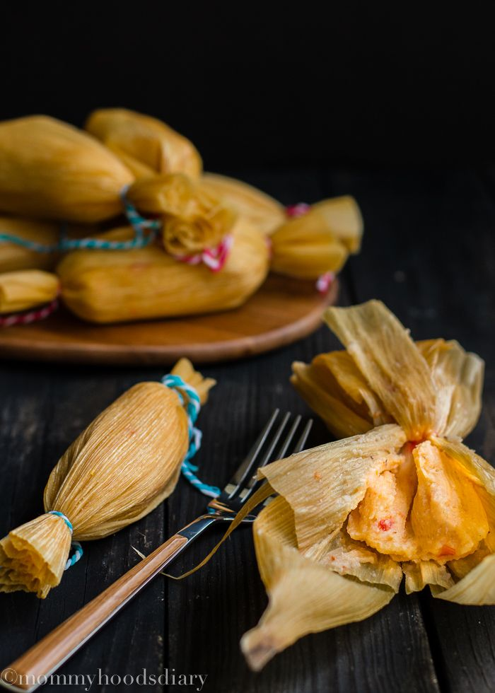 Venezuelan Pepper Tamale / Fáciles Hallaquitas Aliñadas Venezolanas
