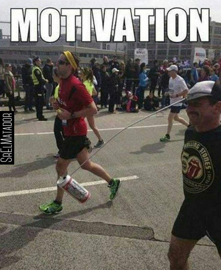 Motivacion cerveza correr