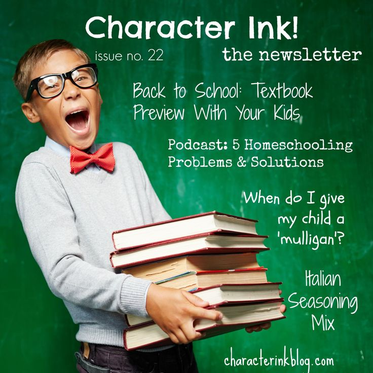 Character Ink! Newsletter, issue no. 22 #textbook #preview #backtoschool #mulligan #recipes