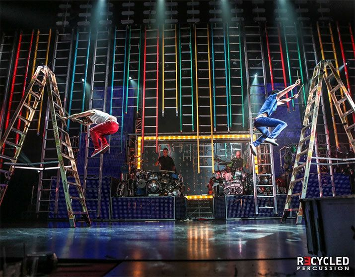 Rock out with #RecycledPercussion #Vegas Tickets from $29.99  #LasVegas #VegasBound #VegasBaby @RecycledRocks #AGT As seen on America's Got Talent
