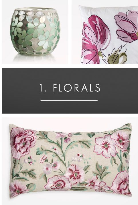 From runway to home: florals