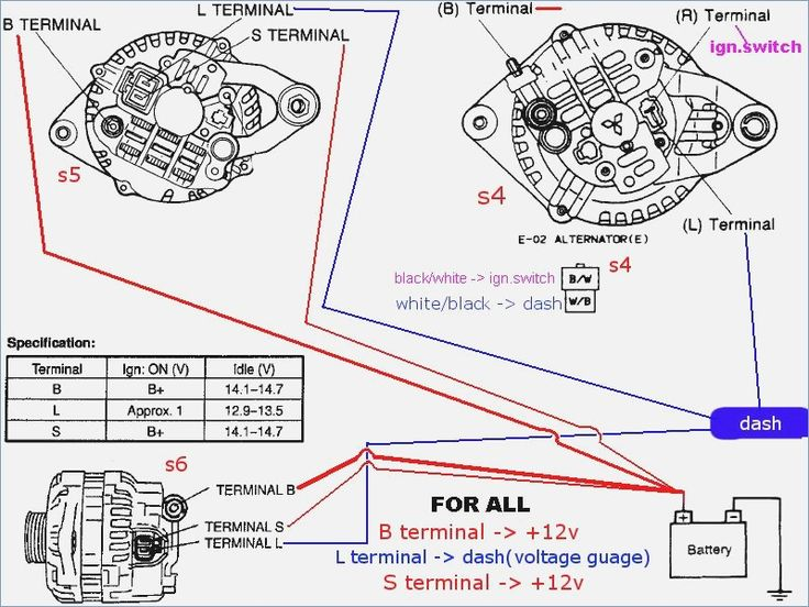 Ls Alternator Wiring Diagram