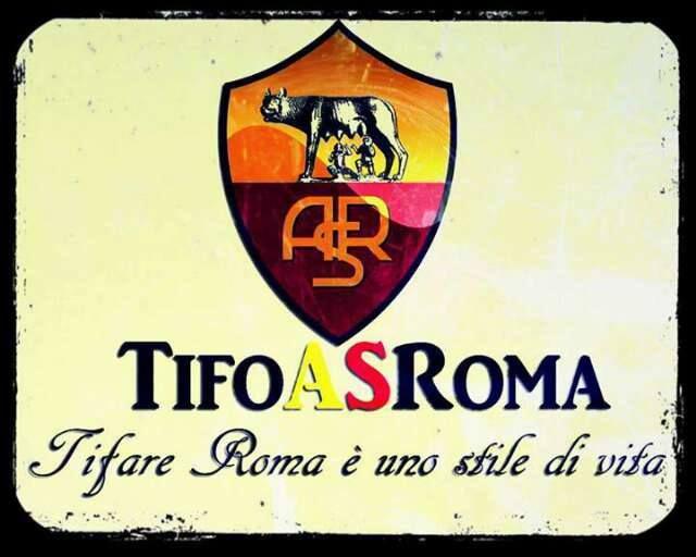 Tifo As Roma