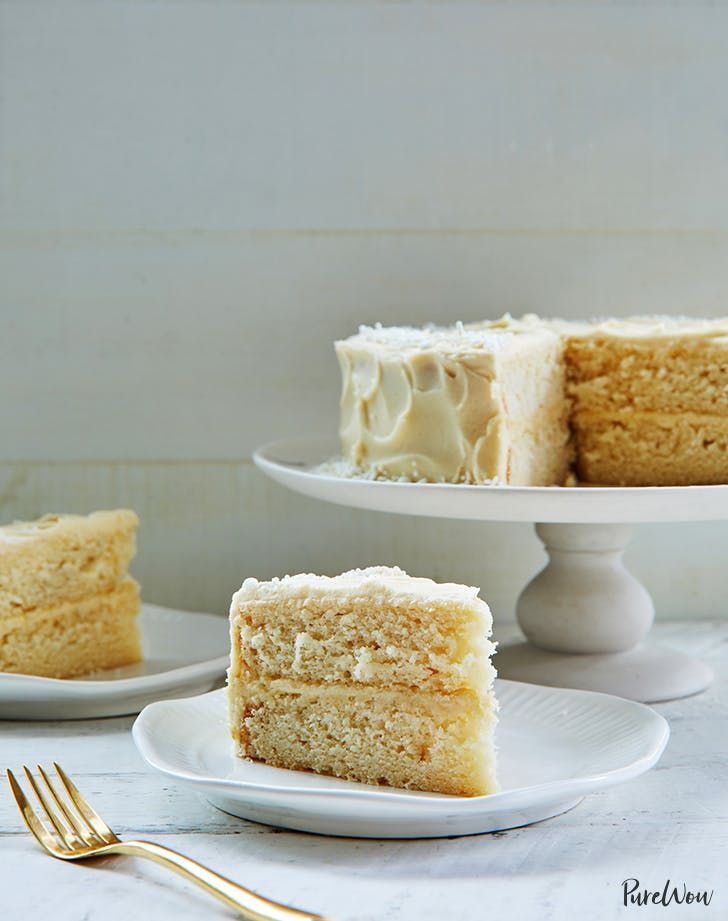 The Ultimate White Cake Recipe Cakes From Scratch Pinterest