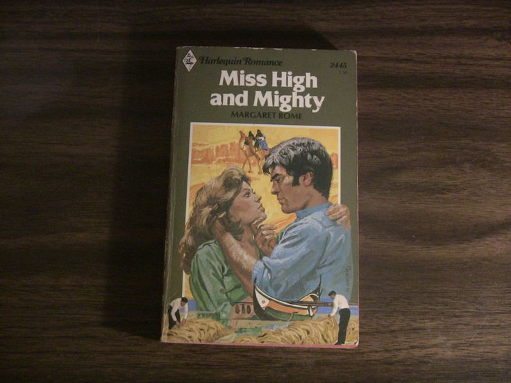 Vintage Harlequin Romance Book #2445 Miss High and Mighty Margaret Rome 1981