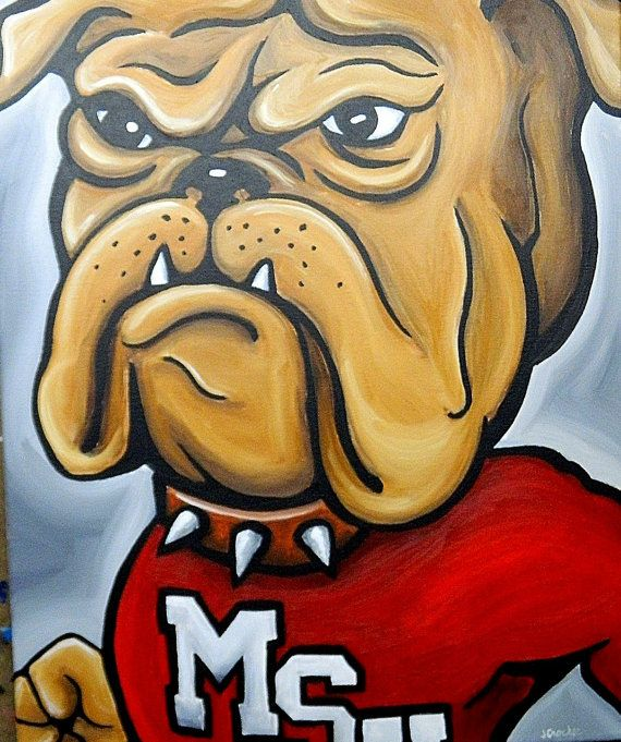 Reserved for Casey L.  Mississippi State Bulldogs by crockerart