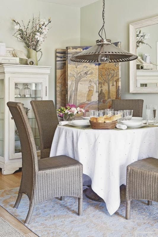 Passiondecor de marieclaude decor pinterest room for Small country dining room ideas