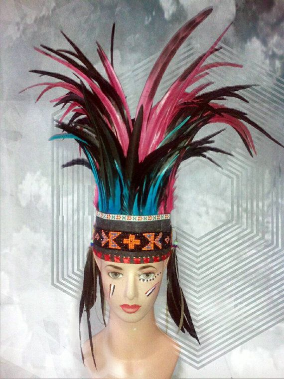TOTAL SALE Indian style headdress Native American inspired