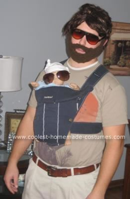 Alan from The Hangover Costume: This is my Alan from The Hangover Costume.  The wig and the beard is something you can find at any Halloween costume store (10 bucks for the beard hair,