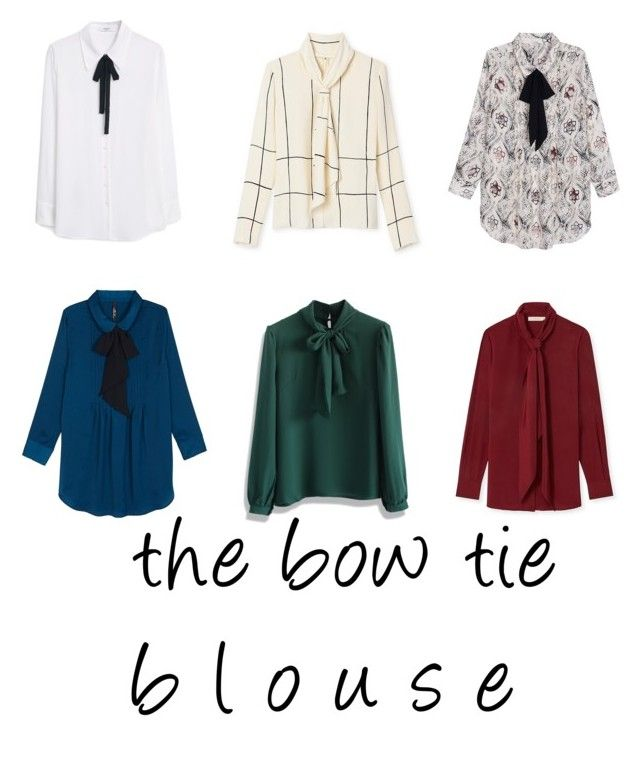 See what blouse I'm crushing on this season by earringsandstuff on Polyvore featuring polyvore, fashion, style, Tory Burch, Melissa McCarthy Seven7, Chicwish, MANGO, Fall and SimpleOutfits