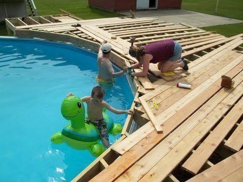 Melhor fator a considerar ao escolher planos de deck para piscinas acima do solo   – Pool Deck
