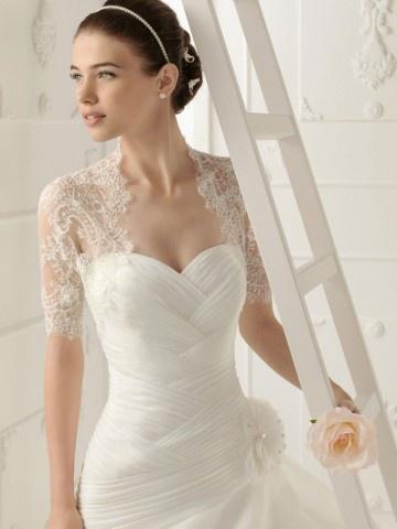 Short Sleeve Lace Jackets/ Wraps for Wedding