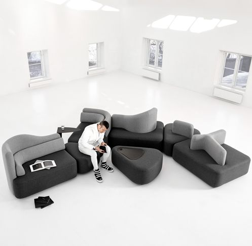 Furniture design by Karim Rashid for BoConcept