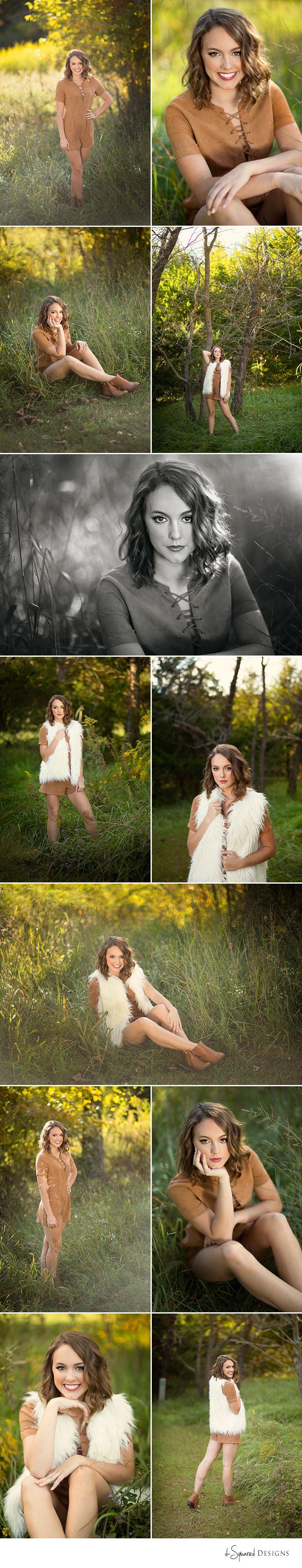 d-Squared Designs Columbia, MO Senior Photography. Fall senior photography. Senior girl photography. Posing ideas. Pretty girl senior.