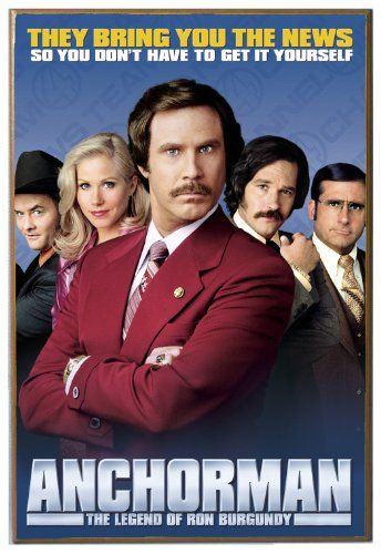 Silver Buffalo AM0536 Anchorman Movie Poster Wood Wall Decor, 13 in. x 19 in:   The Silver Buffalo AM0536 Paramount Anchorman Wood Wall Art Plaque can be displayed to decorate any room in your home or office with your favorite superhero, TV show or movie character. This unique wooden wall art piece features a crisp, clean image that will surely impress any visitor. This wonderful piece hangs effortlessly in any location with the saw-tooth hanging hardware that is already attached. Silv...