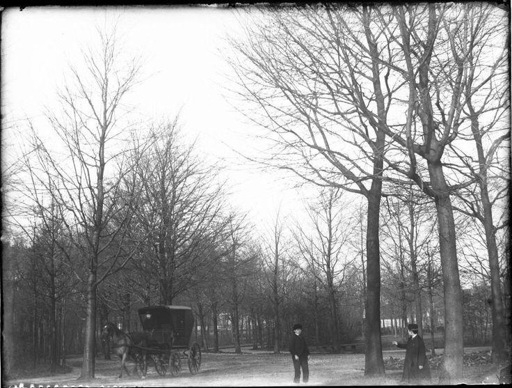 Vondelpark, Amsterdam 1891. Foto: Jacob Olie