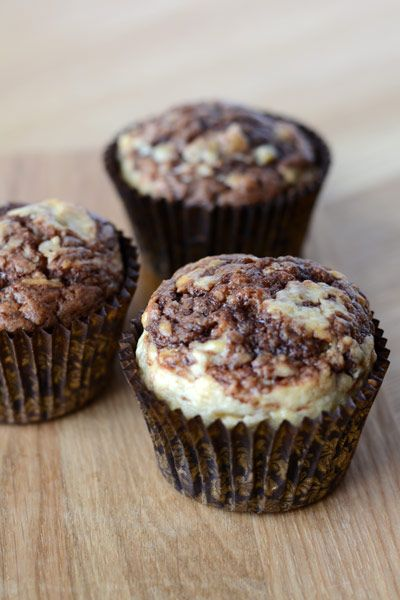 Bananmuffins med nutella //// Best recipe for banana nutella muffins
