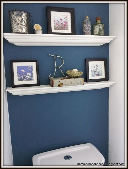 Annie Sloan Aubusson blue wall