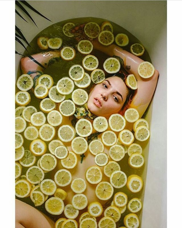 """7,215 Likes, 22 Comments - Hot (@stylemefresh) on Instagram: """"@inkball 📷 by @kate_sweeney 🍋🍋🍋"""""""