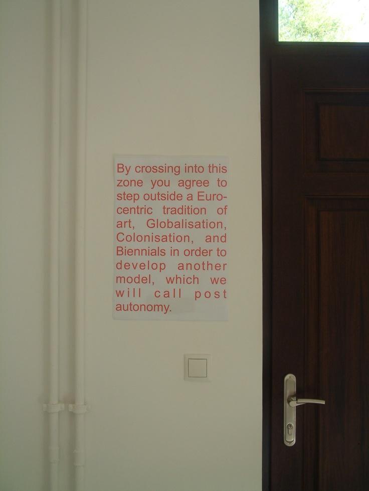 David Goldenberg, Istanbul Biennale Project