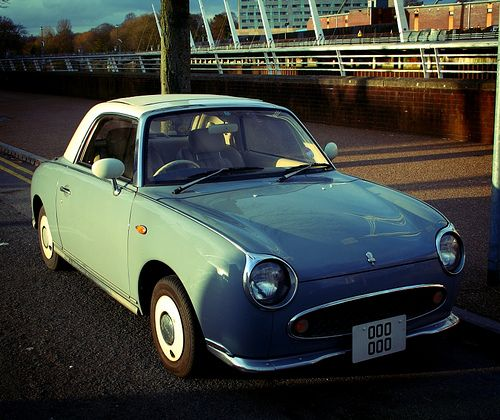 the nissan figaro: my dream car