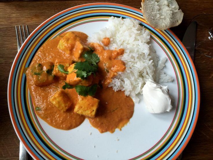 Tofu Tikka Masala på 30 minuter! | Jävligt gott - en blogg om vegetarisk mat och vegetariska recept för alla, lagad enkelt och jävligt gott.
